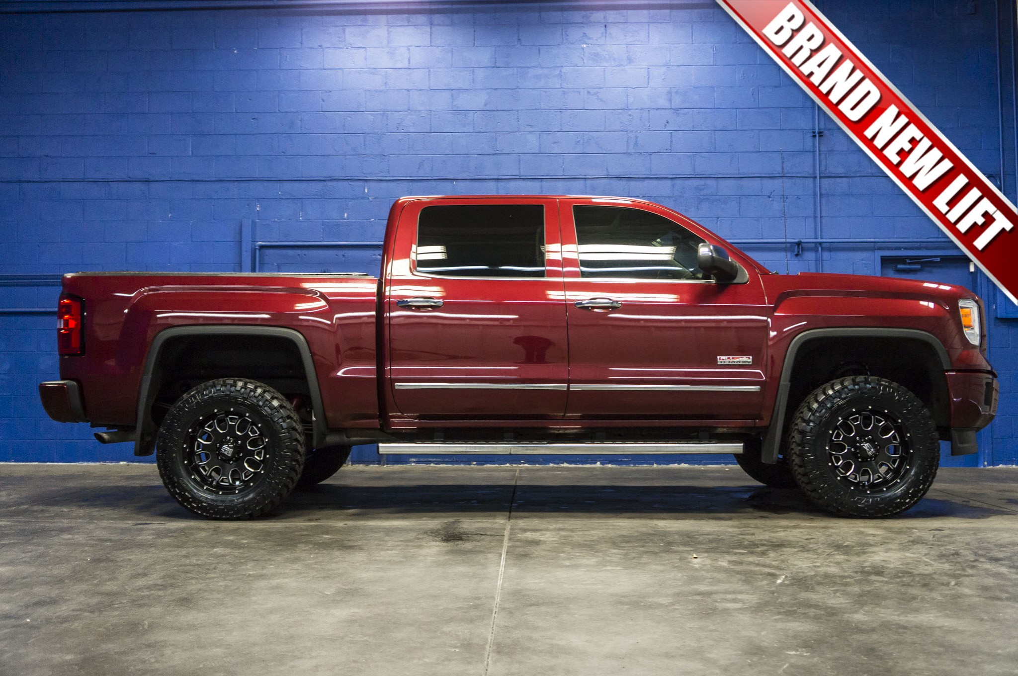 used lifted 2014 gmc sierra 1500 all terrain 4x4 truck for sale 34034. Black Bedroom Furniture Sets. Home Design Ideas