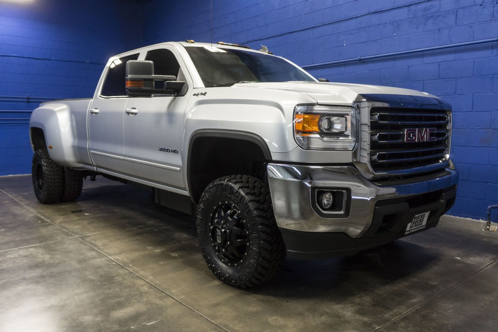 lifted 2015 gmc sierra 3500 sle dually 4x4 northwest. Black Bedroom Furniture Sets. Home Design Ideas