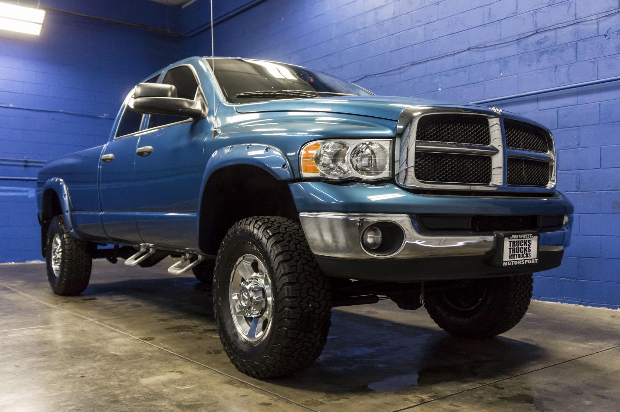lifted  dodge ram   diesel truck  sale