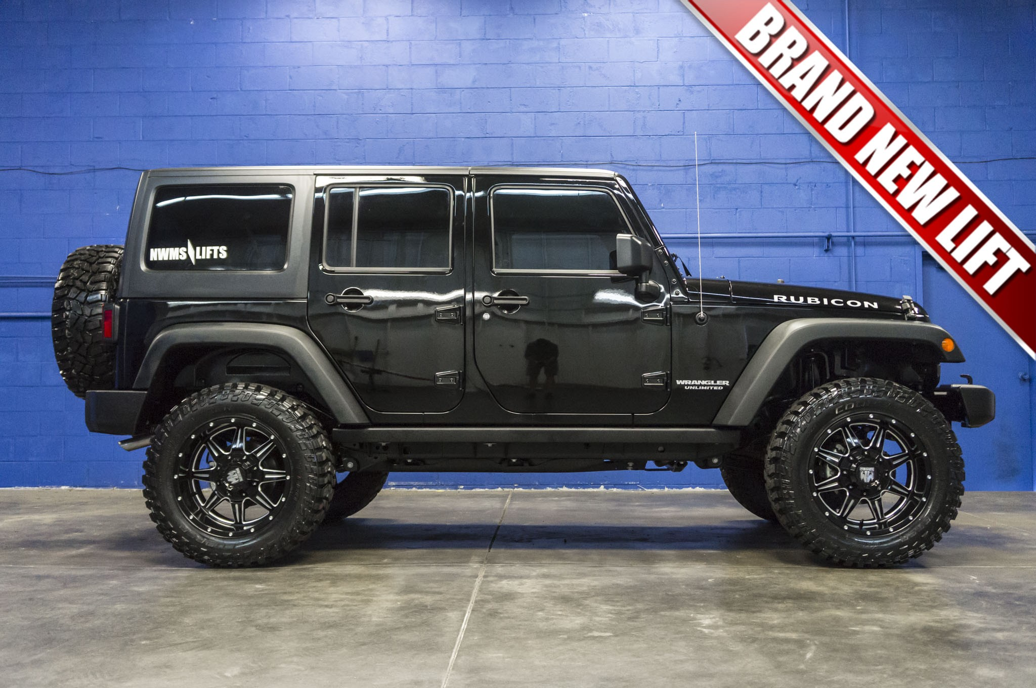 Used Lifted 2015 Jeep Wrangler Unlimited Rubicon 4x4 SUV ...