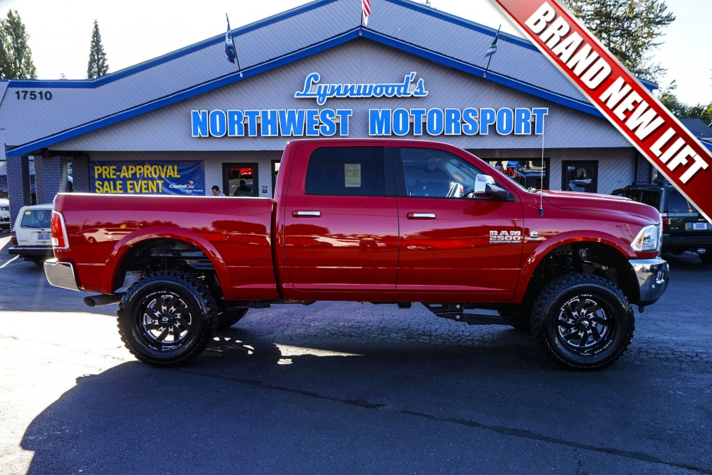 Used Lifted 2016 Dodge Ram 2500 Laramie 4x4 Diesel Truck