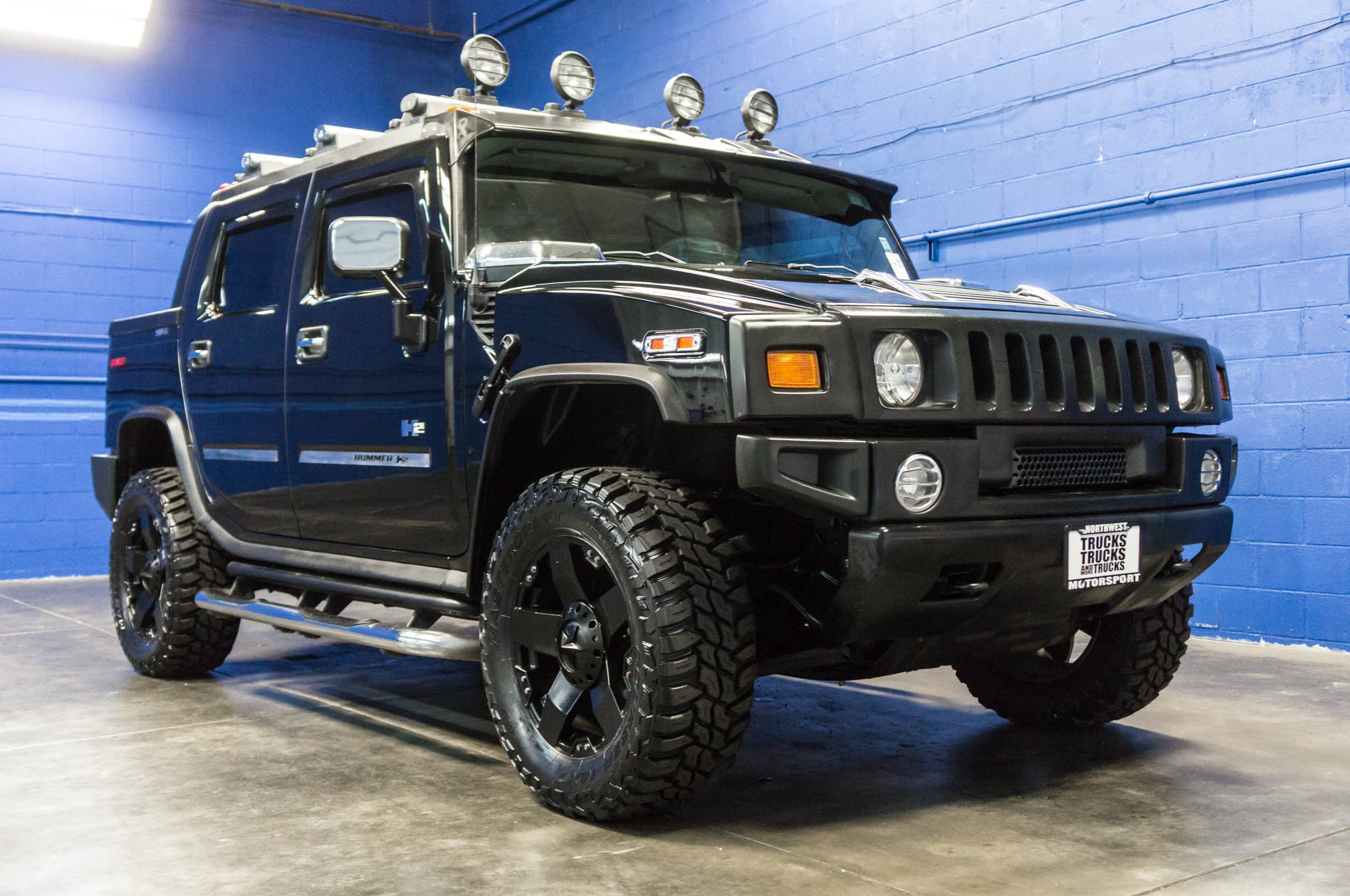 used lifted 2005 hummer h2 sut awd truck for sale 34798. Black Bedroom Furniture Sets. Home Design Ideas