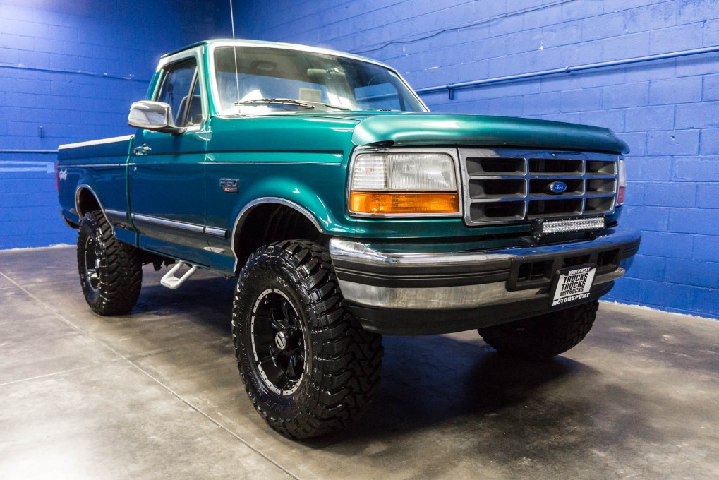 used lifted 1996 ford f 150 xlt 4x4 truck for sale 34815. Black Bedroom Furniture Sets. Home Design Ideas
