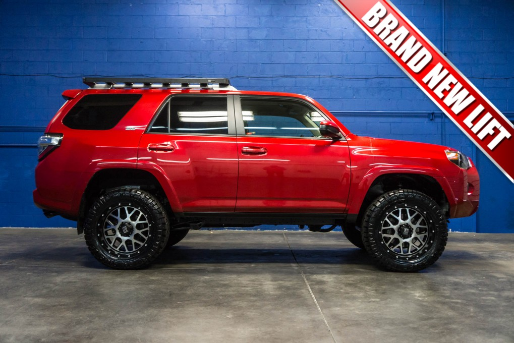 Lifted 4Runner For Sale >> Used Lifted 2015 Toyota 4Runner SR5 4x4 SUV For Sale ...