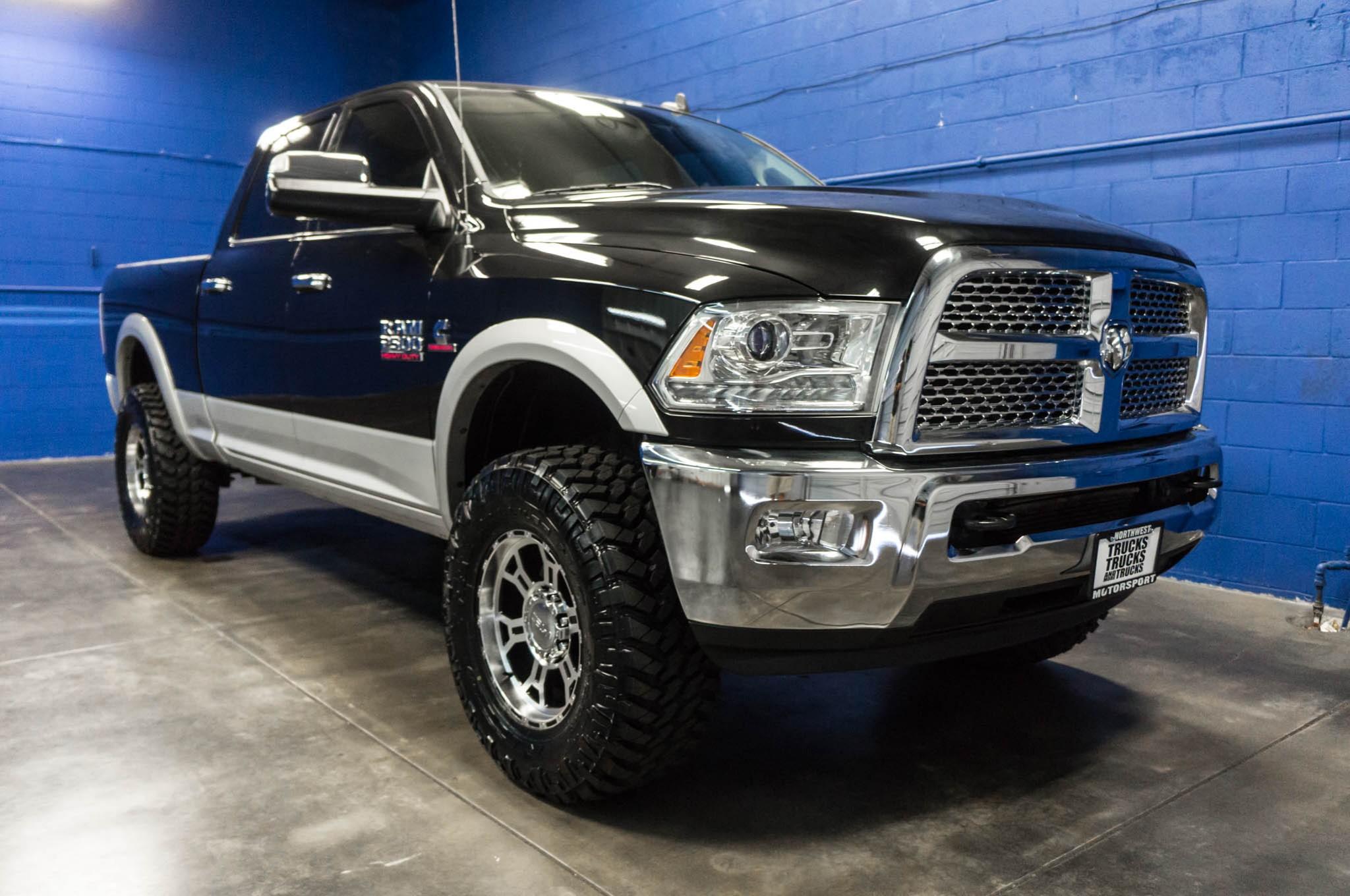 used lifted 2015 dodge ram 2500 laramie 4x4 diesel truck for sale 34949. Black Bedroom Furniture Sets. Home Design Ideas