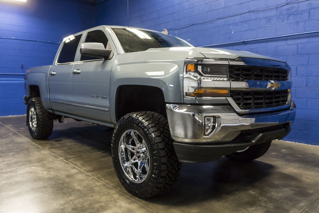used lifted 2016 chevrolet silverado 1500 lt 4x4 truck for sale 34960. Black Bedroom Furniture Sets. Home Design Ideas