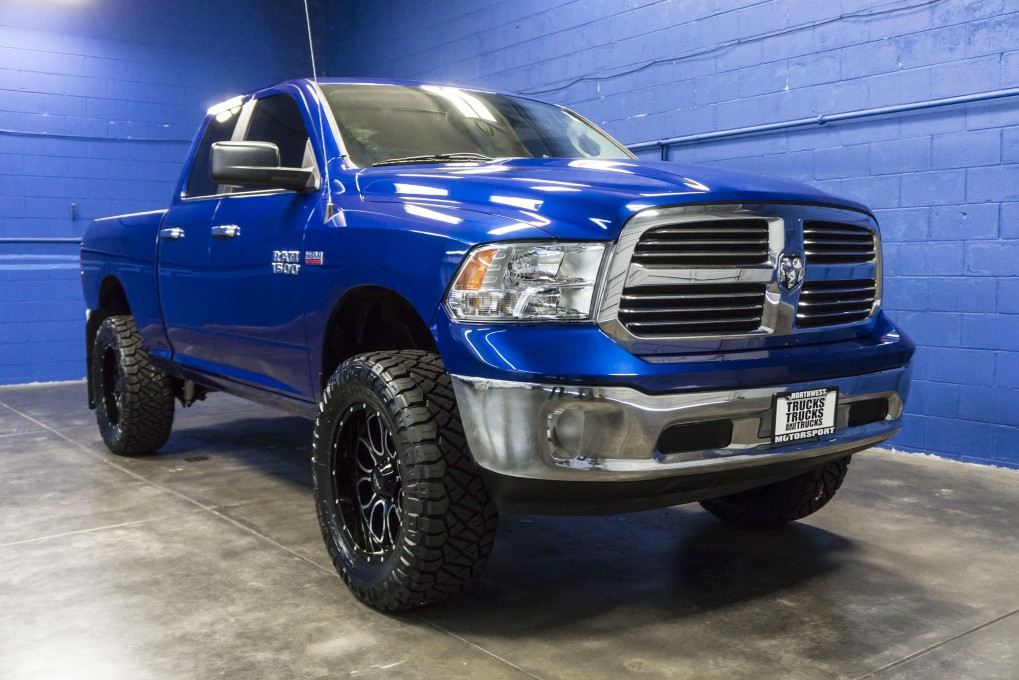 Used Lifted 2014 Dodge Ram 1500 Slt 4x4 Truck For Sale 35023