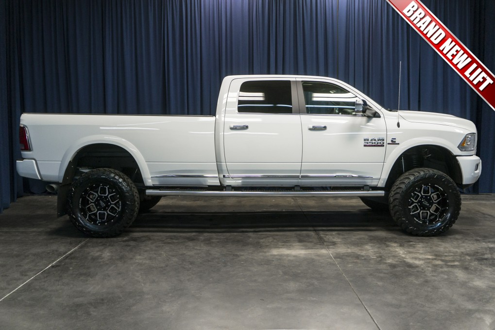 Lifted Dodge Dually For Sale >> Used Lifted 2016 Dodge Ram 3500 Limited 4x4 Diesel Truck For Sale - Northwest Motorsport
