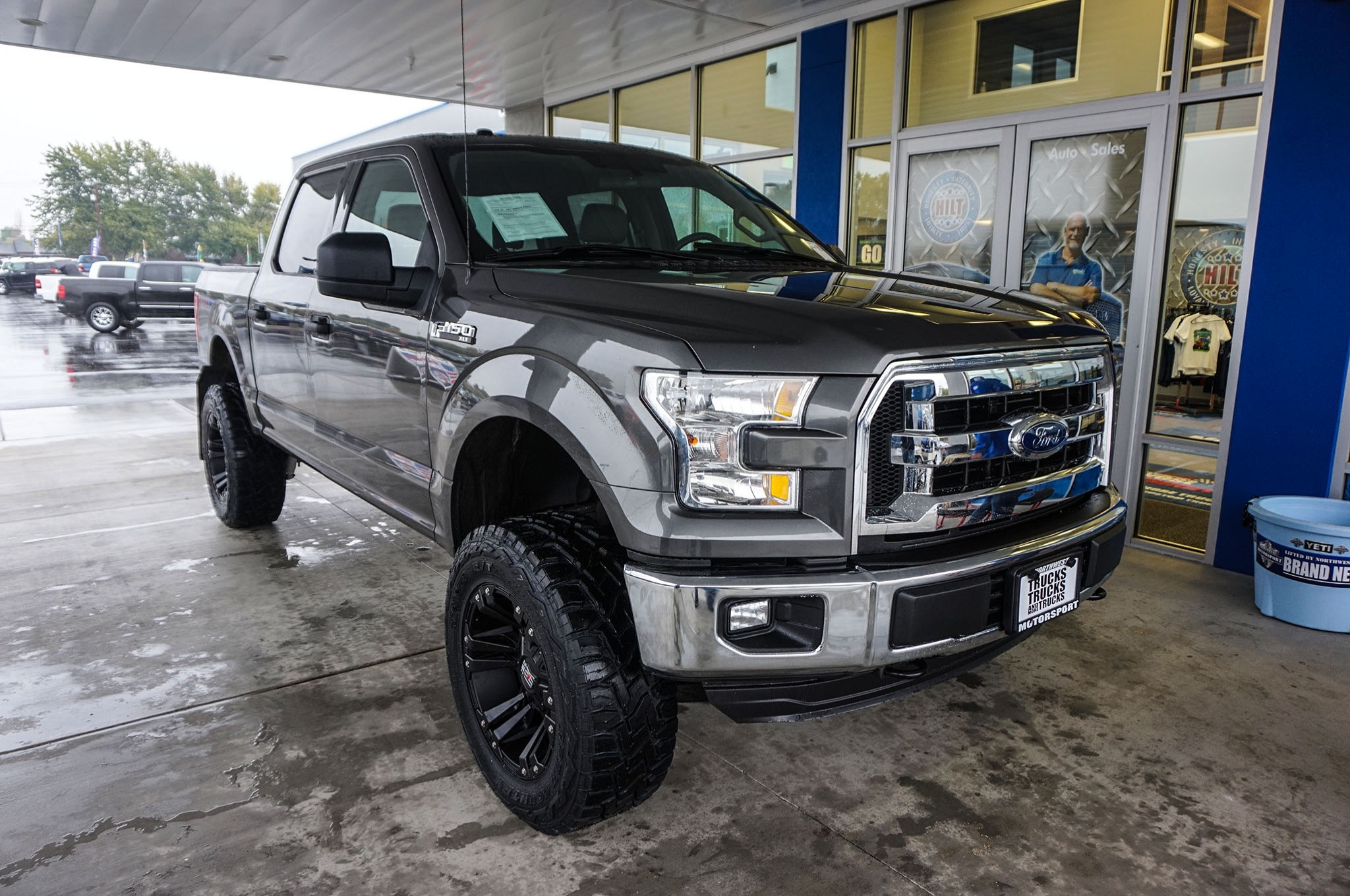 used lifted 2016 ford f 150 xlt 4x4 truck for sale 35549. Black Bedroom Furniture Sets. Home Design Ideas