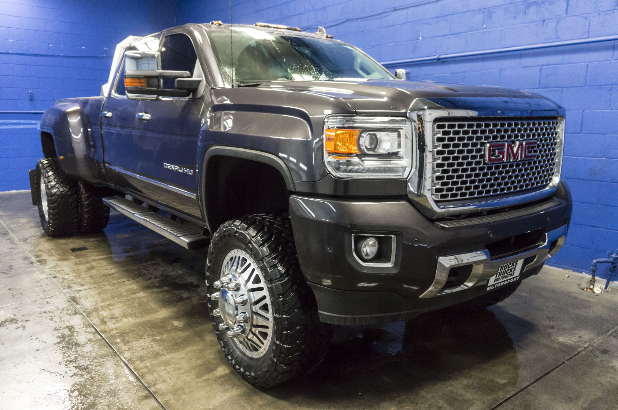 Gmc 3500 Denali Diesel For Sale >> Used Lifted 2015 Gmc Sierra 3500 Denali Dually 4x4 Diesel Truck
