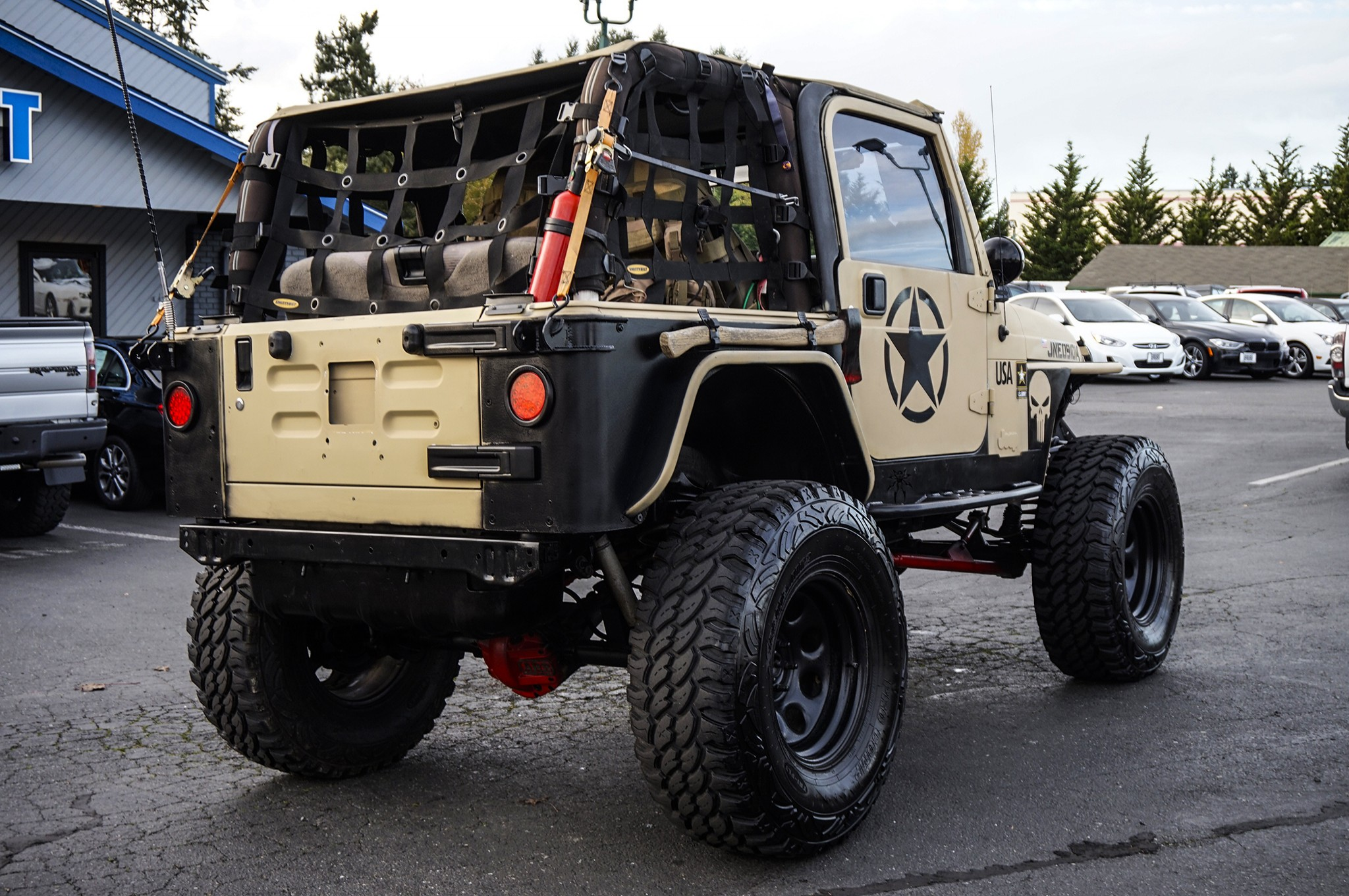 lifted 2004 jeep wrangler rubicon 4x4 - northwest motorsport