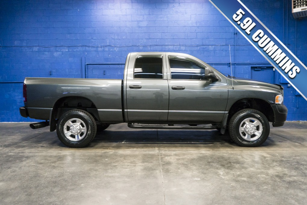 used 2003 dodge ram 2500 4x4 diesel truck for sale northwest motorsport. Black Bedroom Furniture Sets. Home Design Ideas