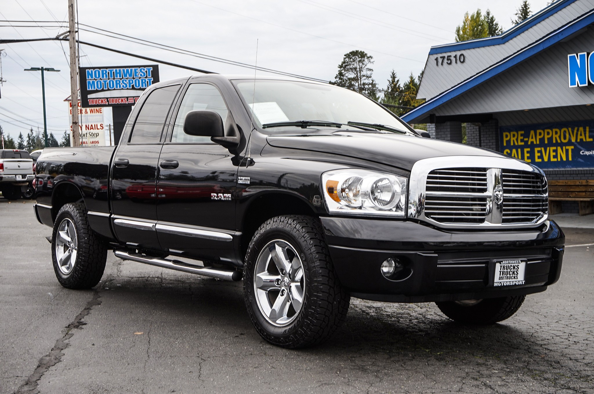 used 2008 dodge ram 1500 laramie 4x4 truck for sale 35839. Black Bedroom Furniture Sets. Home Design Ideas