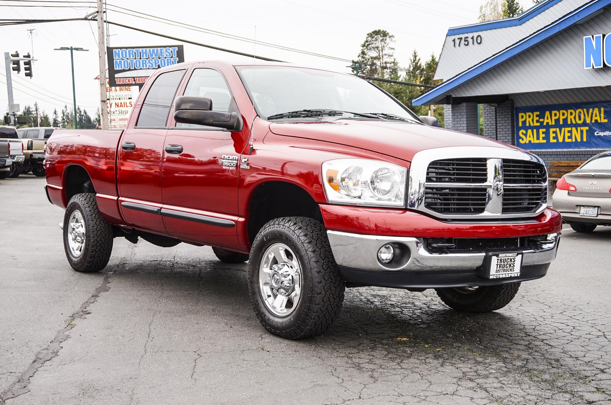 used 2007 dodge ram 3500 4x4 diesel truck for sale 35880. Black Bedroom Furniture Sets. Home Design Ideas