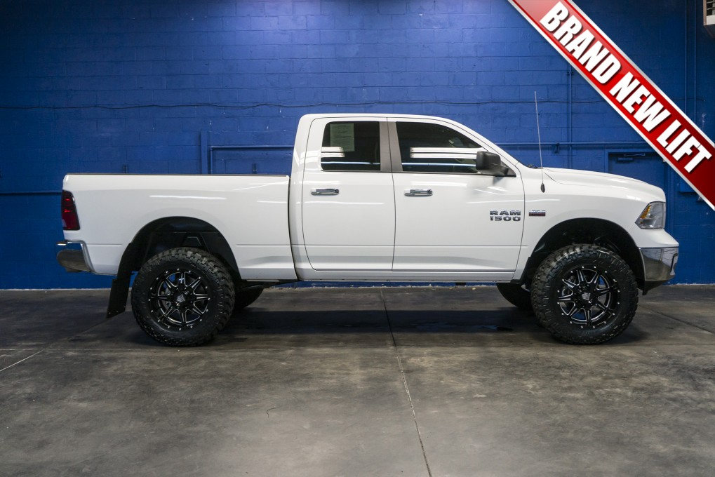 used lifted 2016 dodge ram 1500 big horn 4x4 truck for sale northwest motorsport. Black Bedroom Furniture Sets. Home Design Ideas