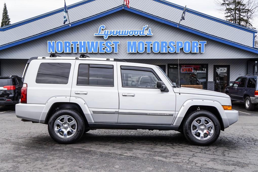 used 2006 jeep commander limited 4x4 suv for sale northwest motorsport. Black Bedroom Furniture Sets. Home Design Ideas