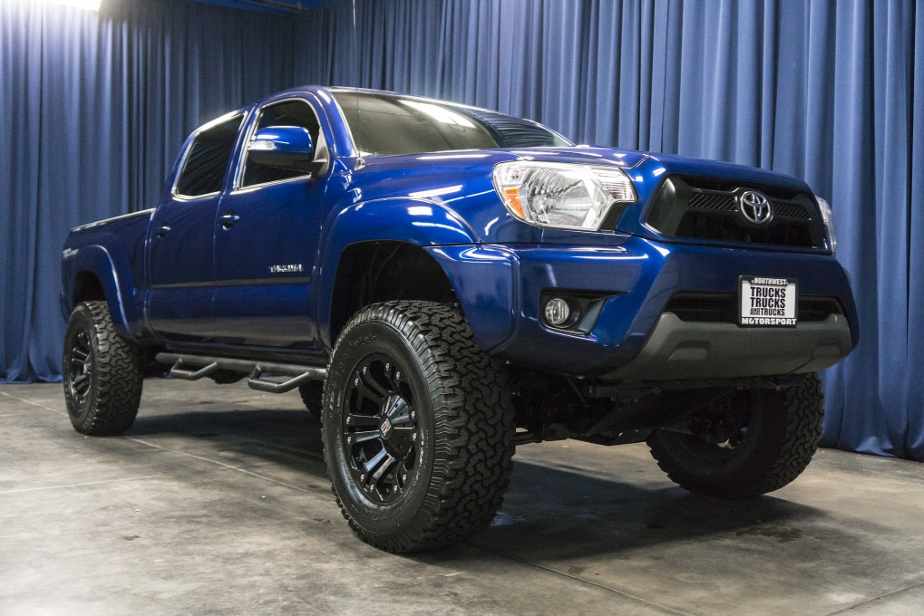 lifted 2014 toyota tacoma trd sport 4x4 northwest motorsport. Black Bedroom Furniture Sets. Home Design Ideas