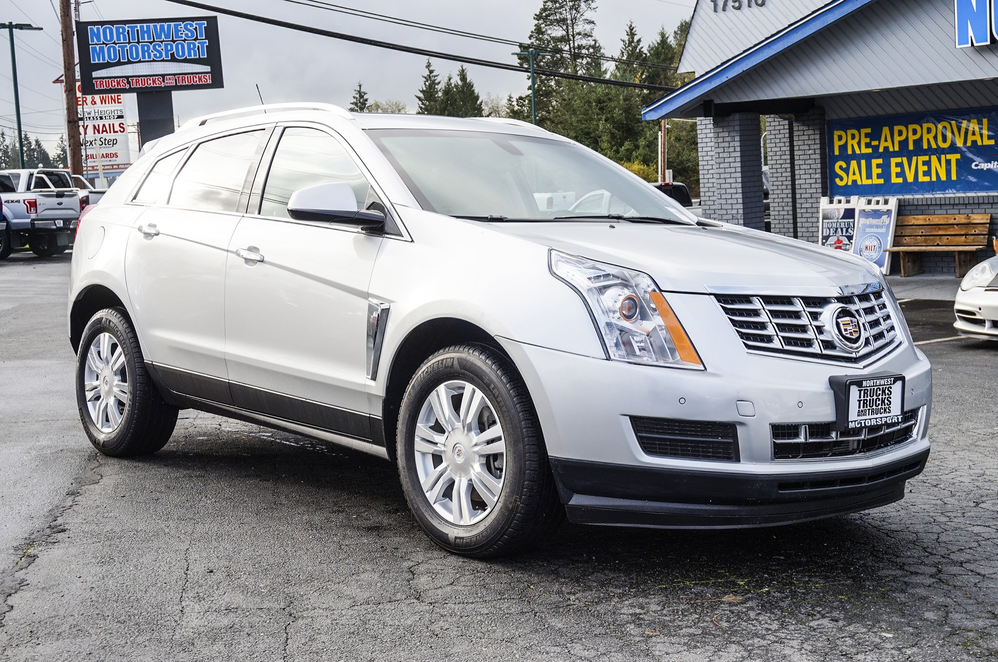 Used 2015 Cadillac SRX Luxury AWD SUV For Sale
