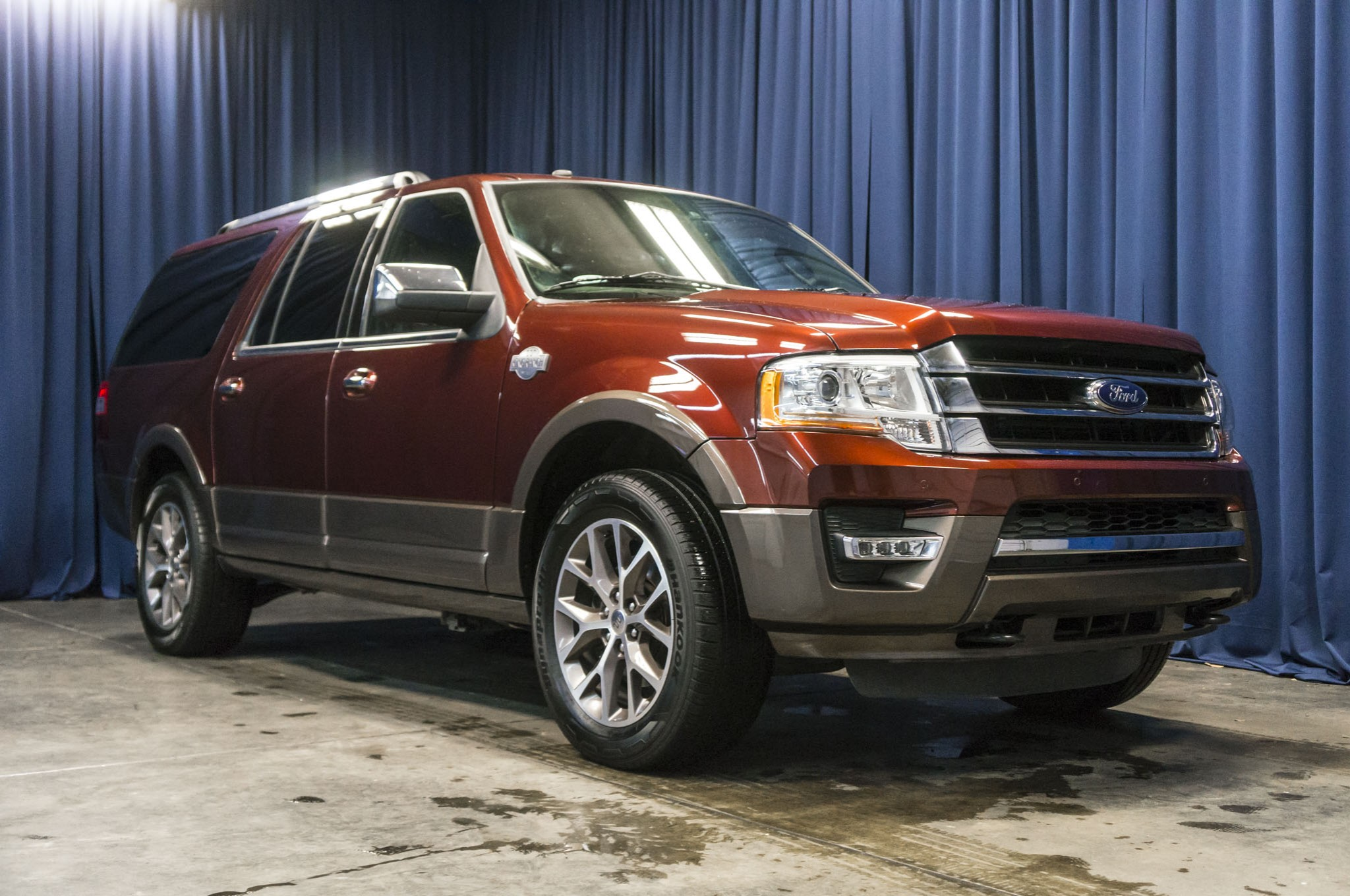 used 2016 ford expedition king ranch el 4x4 suv for sale 36755. Black Bedroom Furniture Sets. Home Design Ideas