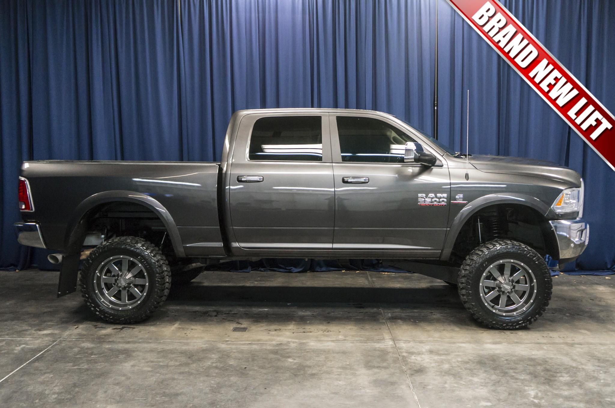 used lifted 2016 dodge ram 2500 laramie 4x4 diesel truck for sale 36904. Black Bedroom Furniture Sets. Home Design Ideas