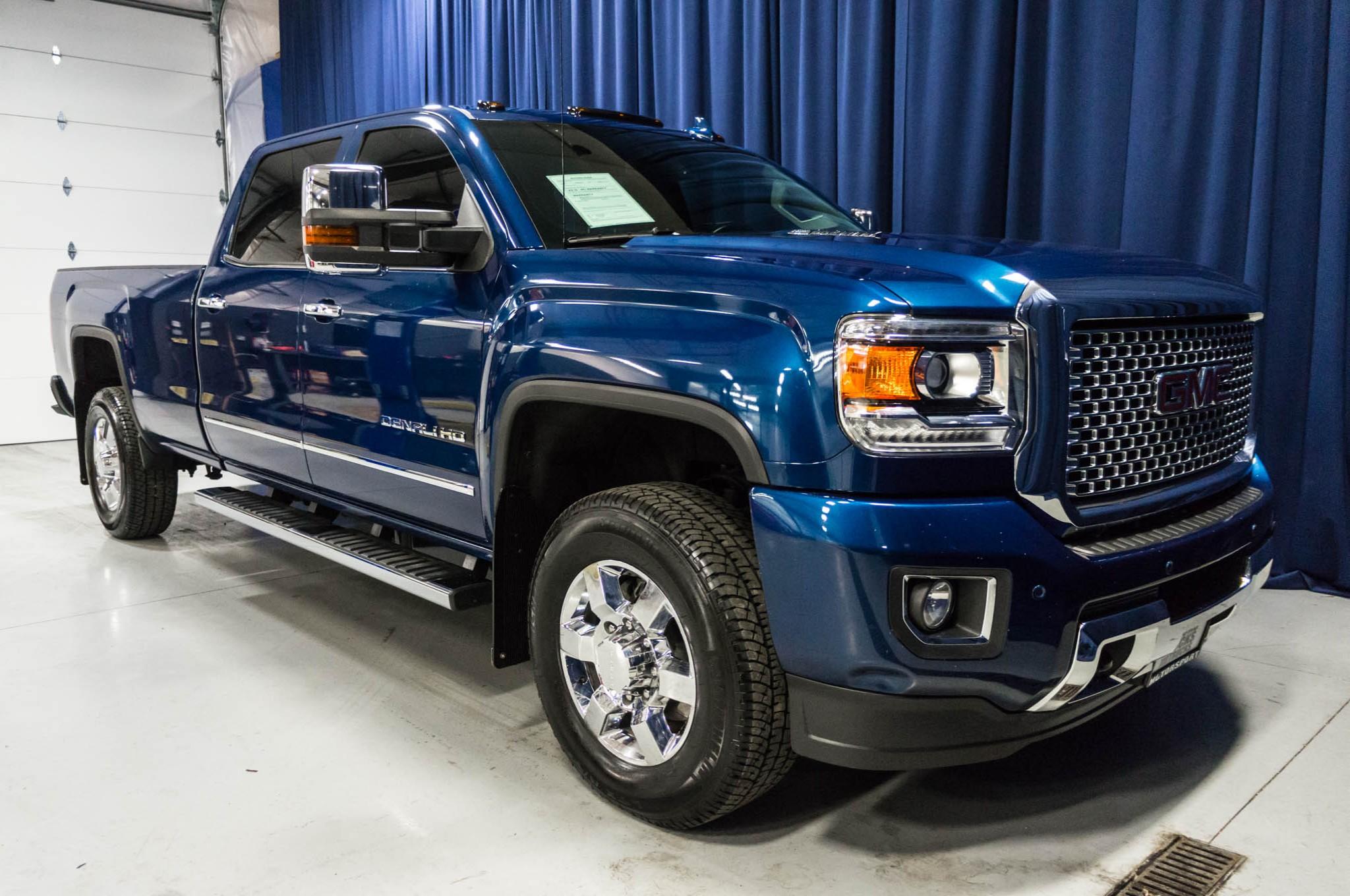 Used 2015 GMC Sierra 3500 Denali 4x4 Diesel Truck For Sale