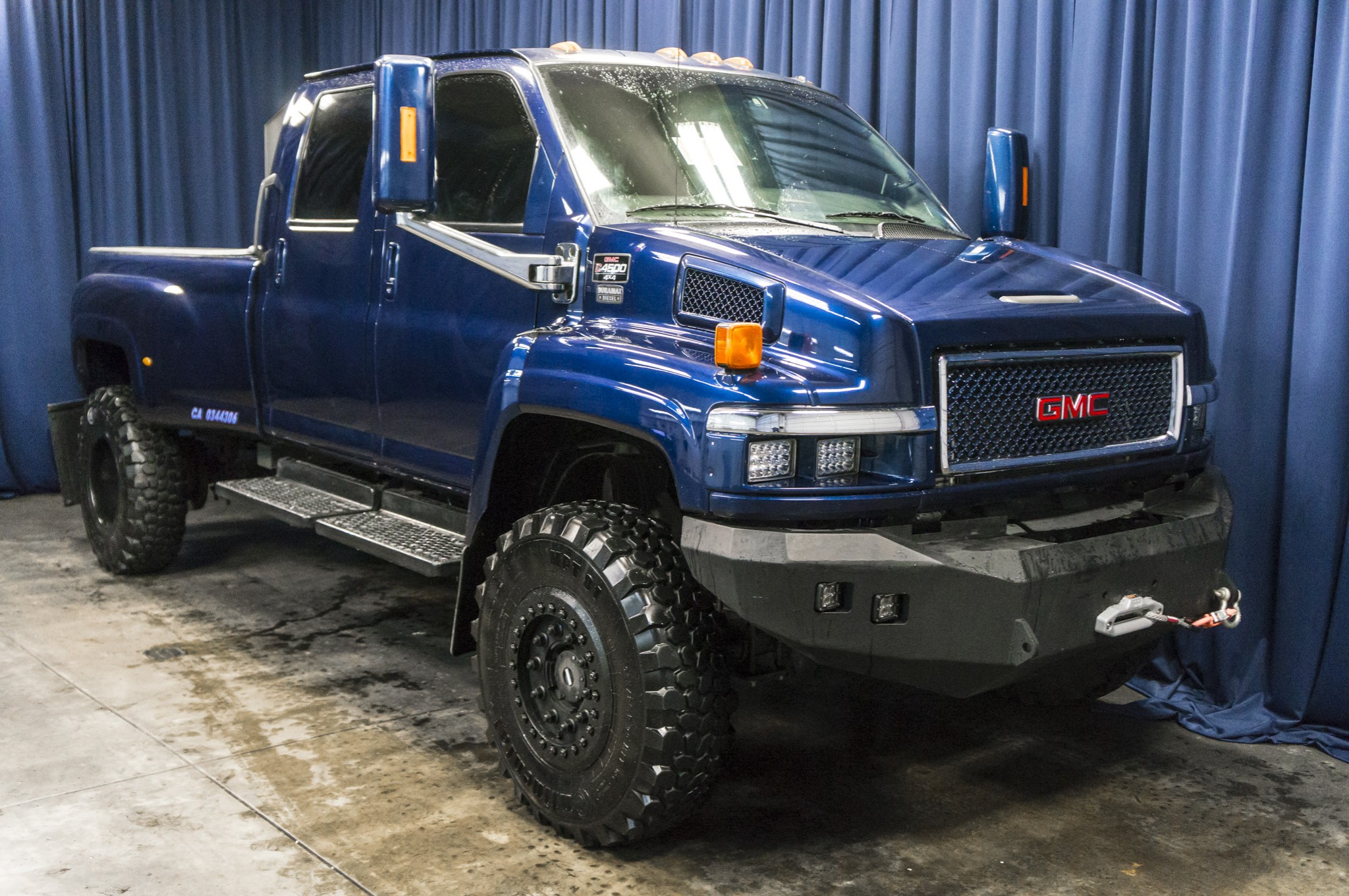 Gmc Duramax For Sale >> Used Lifted 2006 GMC C4500 4x4 Diesel Truck For Sale - 37021