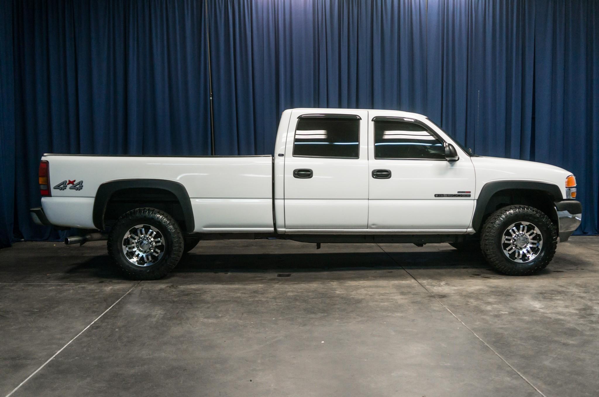 Used 2001 GMC Sierra 2500 HD 4x4 Diesel Truck For Sale A