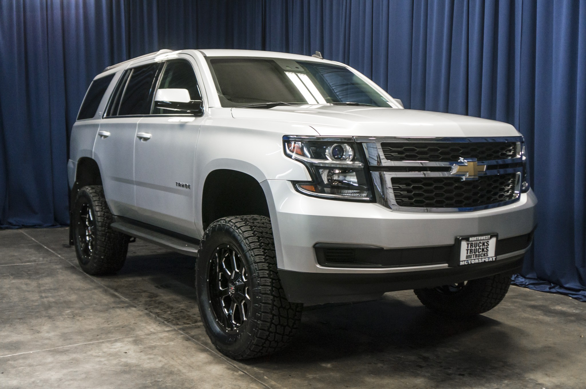 Used Lifted 2015 Chevrolet Tahoe LT 4x4 SUV For Sale - 37186