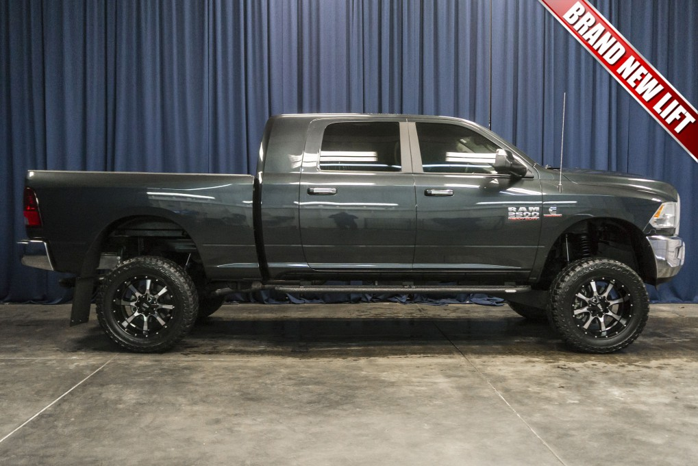 used lifted 2015 dodge ram 2500 big horn 4x4 diesel truck for sale northwest motorsport. Black Bedroom Furniture Sets. Home Design Ideas