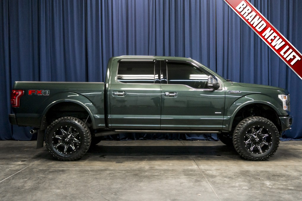 2015 F150 Lifted >> Used Lifted 2015 Ford F 150 Platinum 4x4 Truck For Sale Northwest