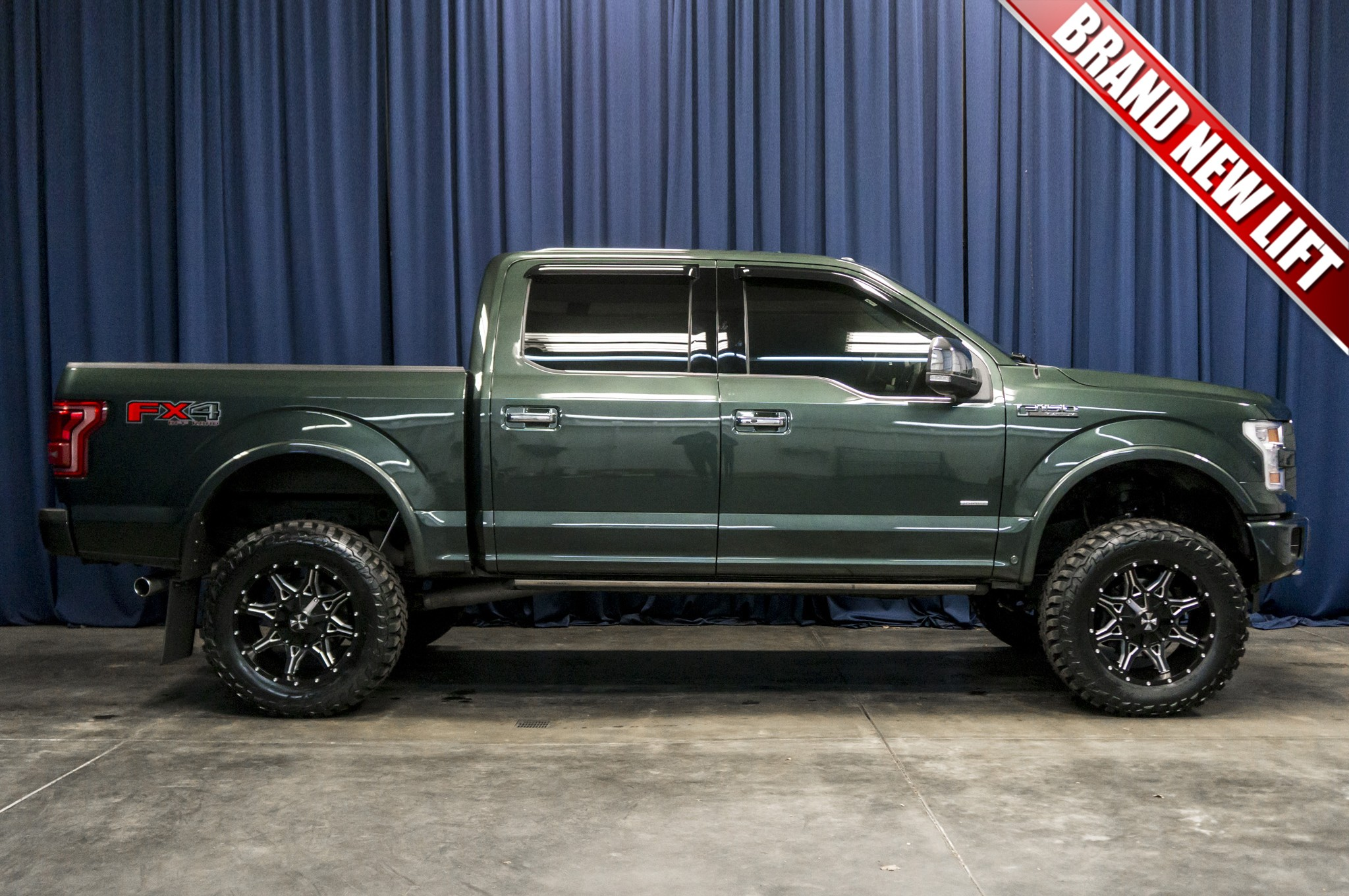 2015 F150 For Sale >> Used Lifted 2015 Ford F 150 Platinum 4x4 Truck For Sale 37772