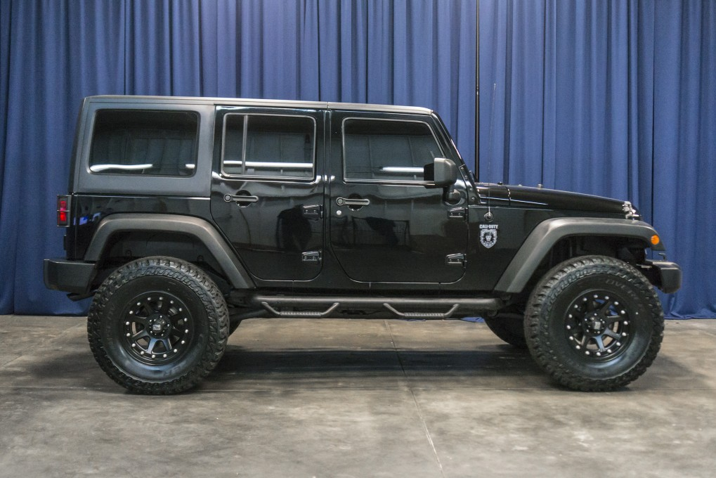 Used Lifted 2011 Jeep Wrangler Call Of Duty Black Ops 4x4 SUV For ...