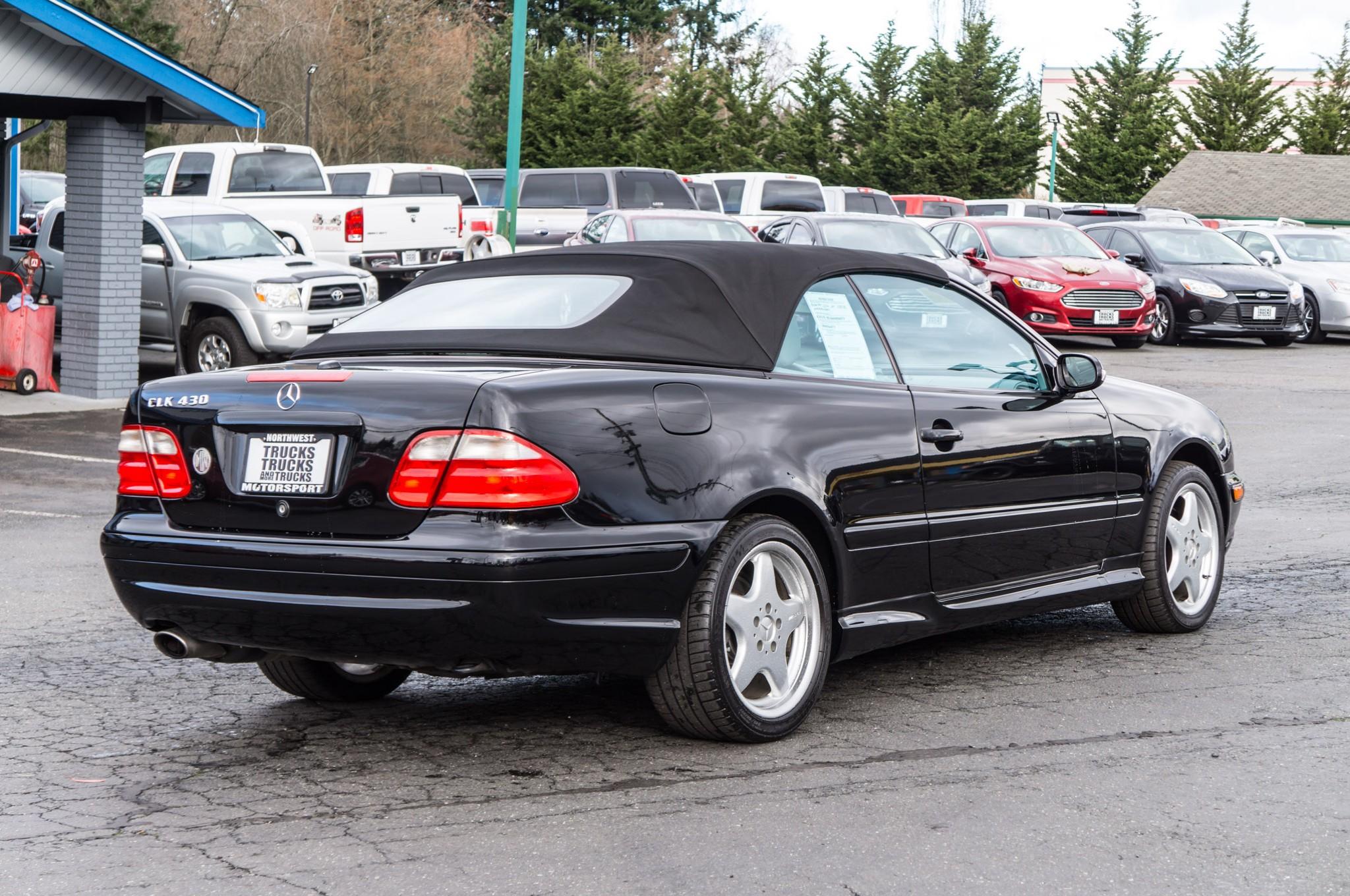2001 mercedes benz clk430 rwd