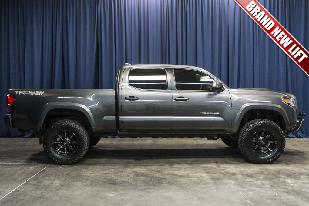 lifted 2016 toyota tacoma trd sport 4x4 northwest motorsport. Black Bedroom Furniture Sets. Home Design Ideas