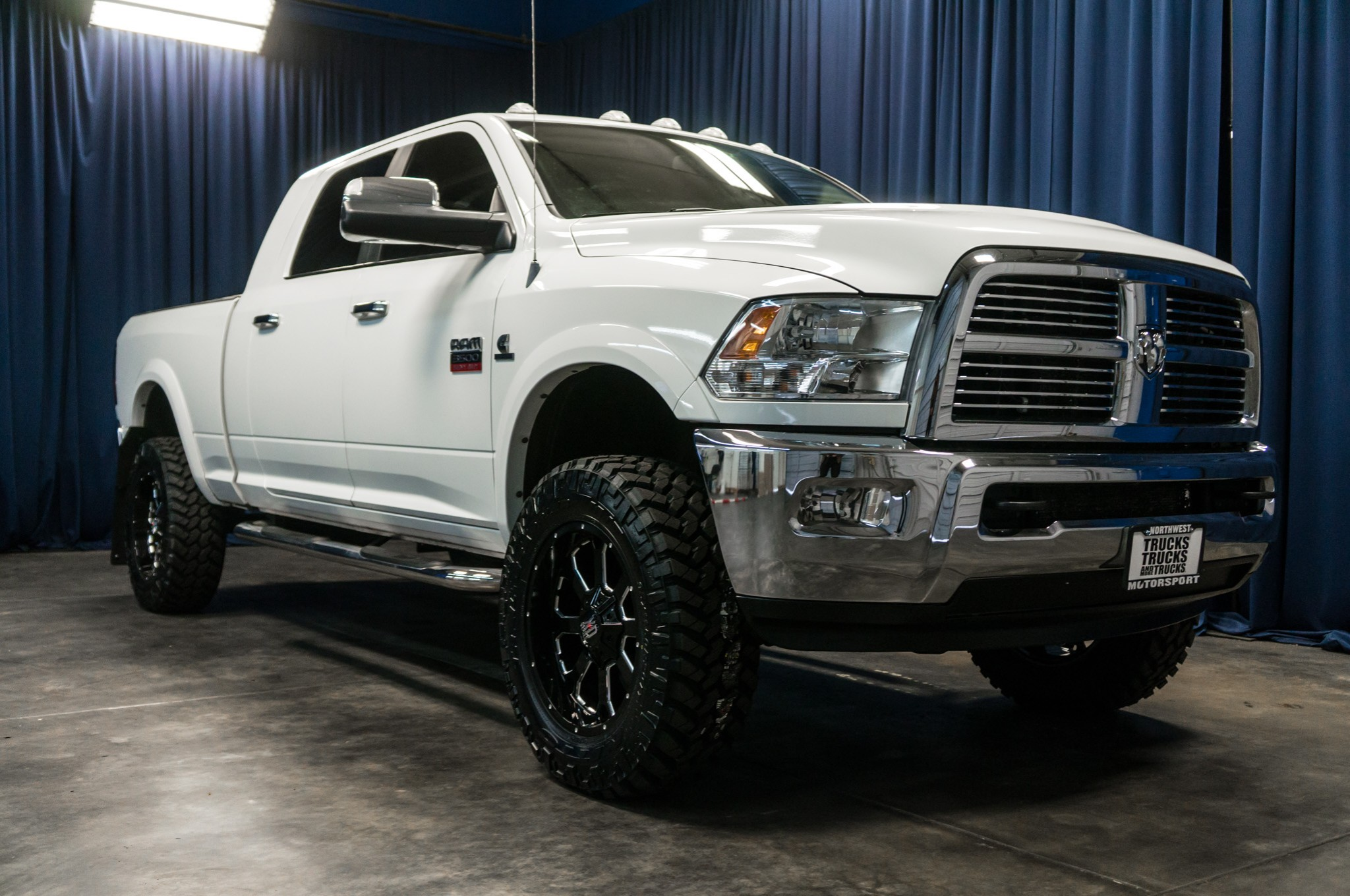 lifted  dodge ram  laramie  diesel truck  sale