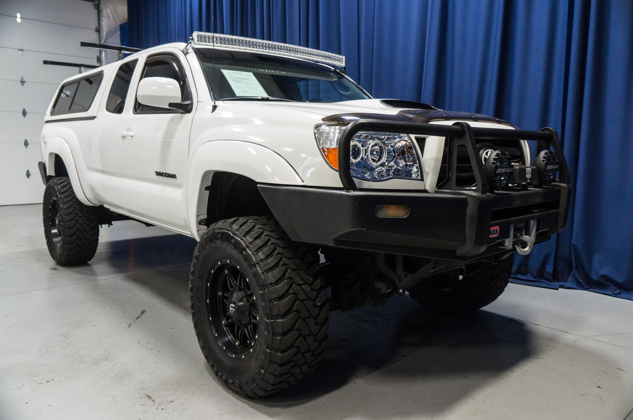 used lifted 2005 toyota tacoma trd sport sr5 4x4 truck for sale 39047a. Black Bedroom Furniture Sets. Home Design Ideas