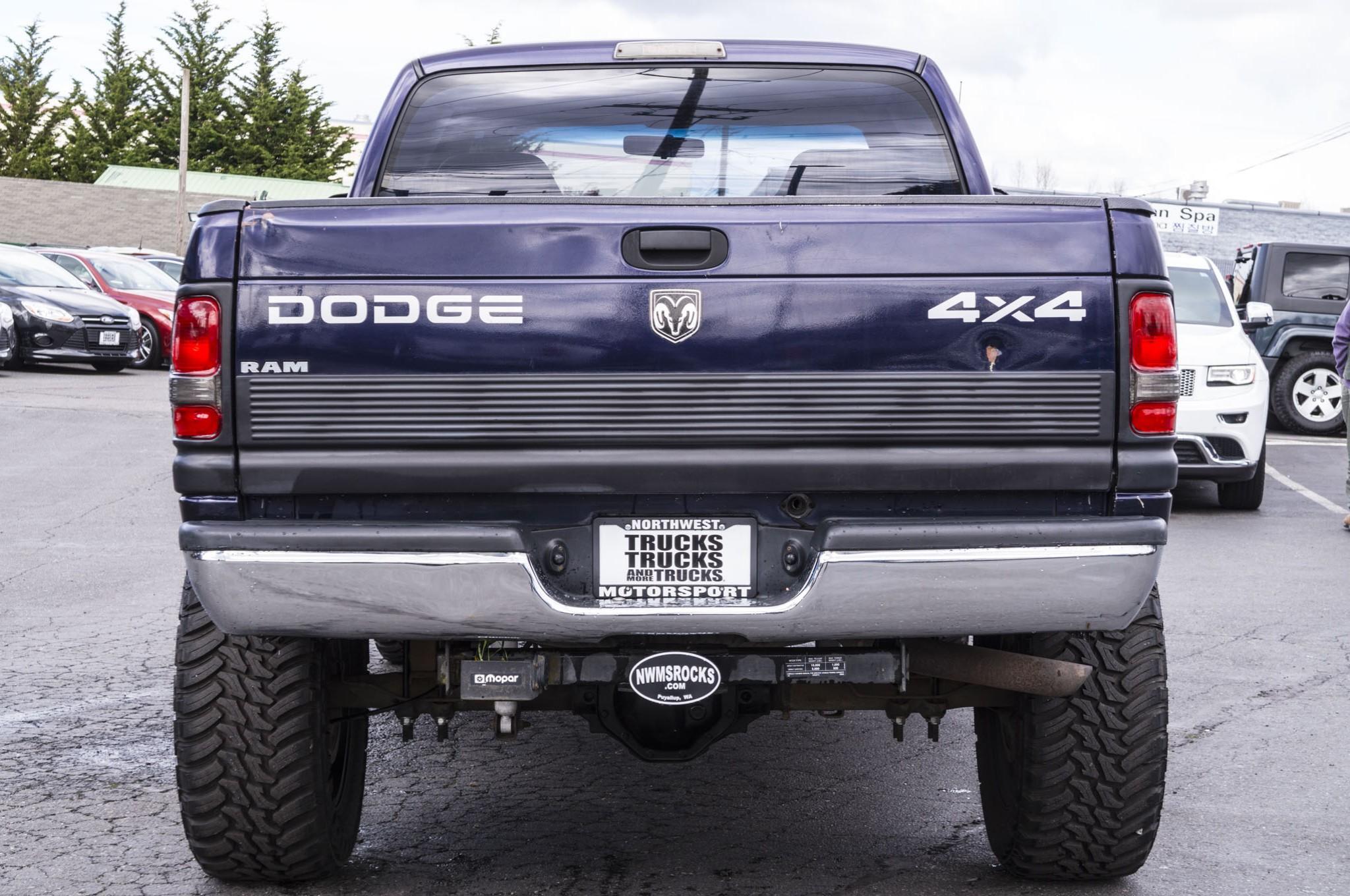 used lifted 1998 dodge ram 1500 slt 4x4 truck for sale 39310a. Black Bedroom Furniture Sets. Home Design Ideas