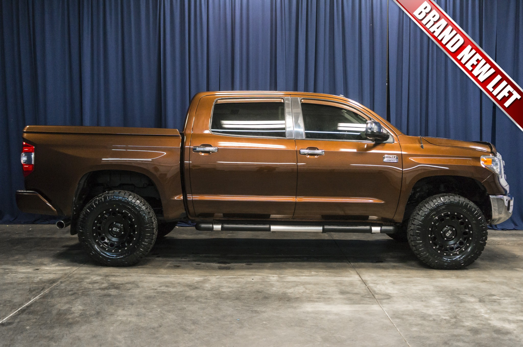 Used Lifted 2014 Toyota Tundra 1794 Edition 4x4 Truck For