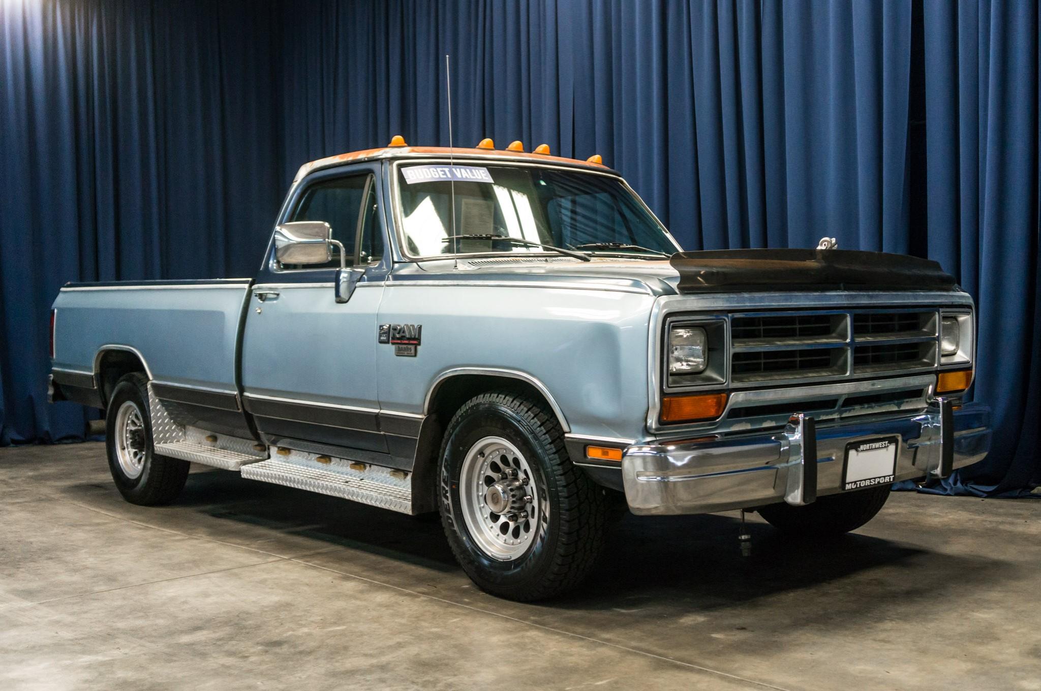 dodge   rwd diesel truck  sale