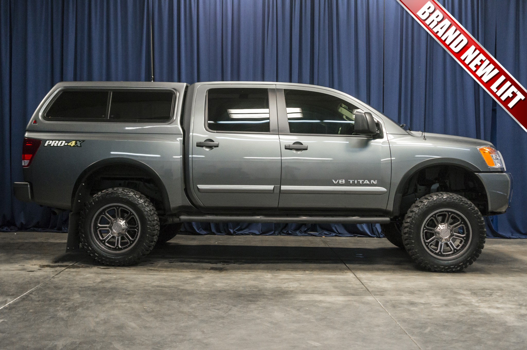 Used Lifted 2014 Nissan Titan PRO 4X 4x4 Truck For Sale