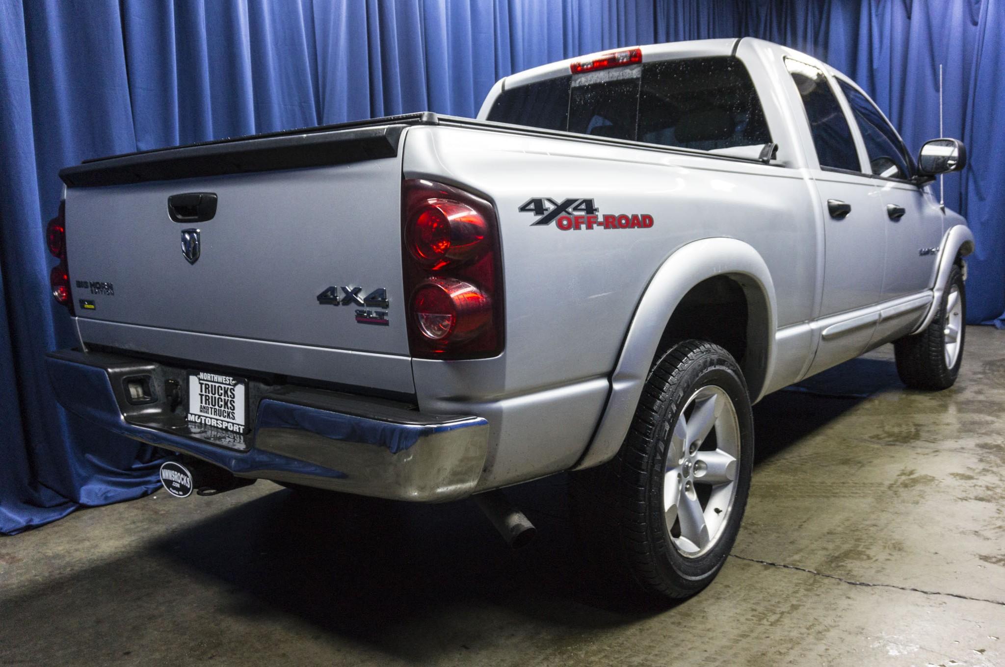 used 2007 dodge ram 1500 slt 4x4 truck for sale 40025a. Black Bedroom Furniture Sets. Home Design Ideas