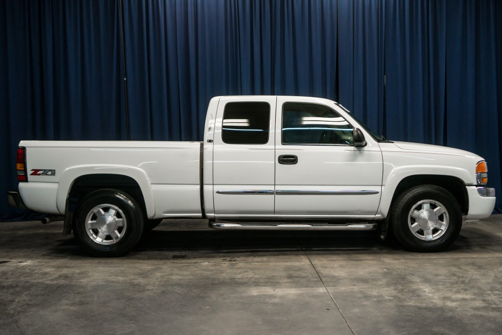 3k In Miles >> Used 2005 GMC Sierra 1500 SLE Z71 4x4 Truck For Sale ...