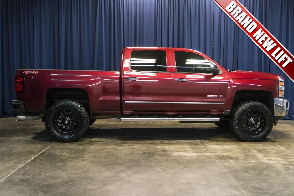 Used Lifted 2015 Chevrolet Silverado 2500hd Ltz 4x4 Diesel Truck For