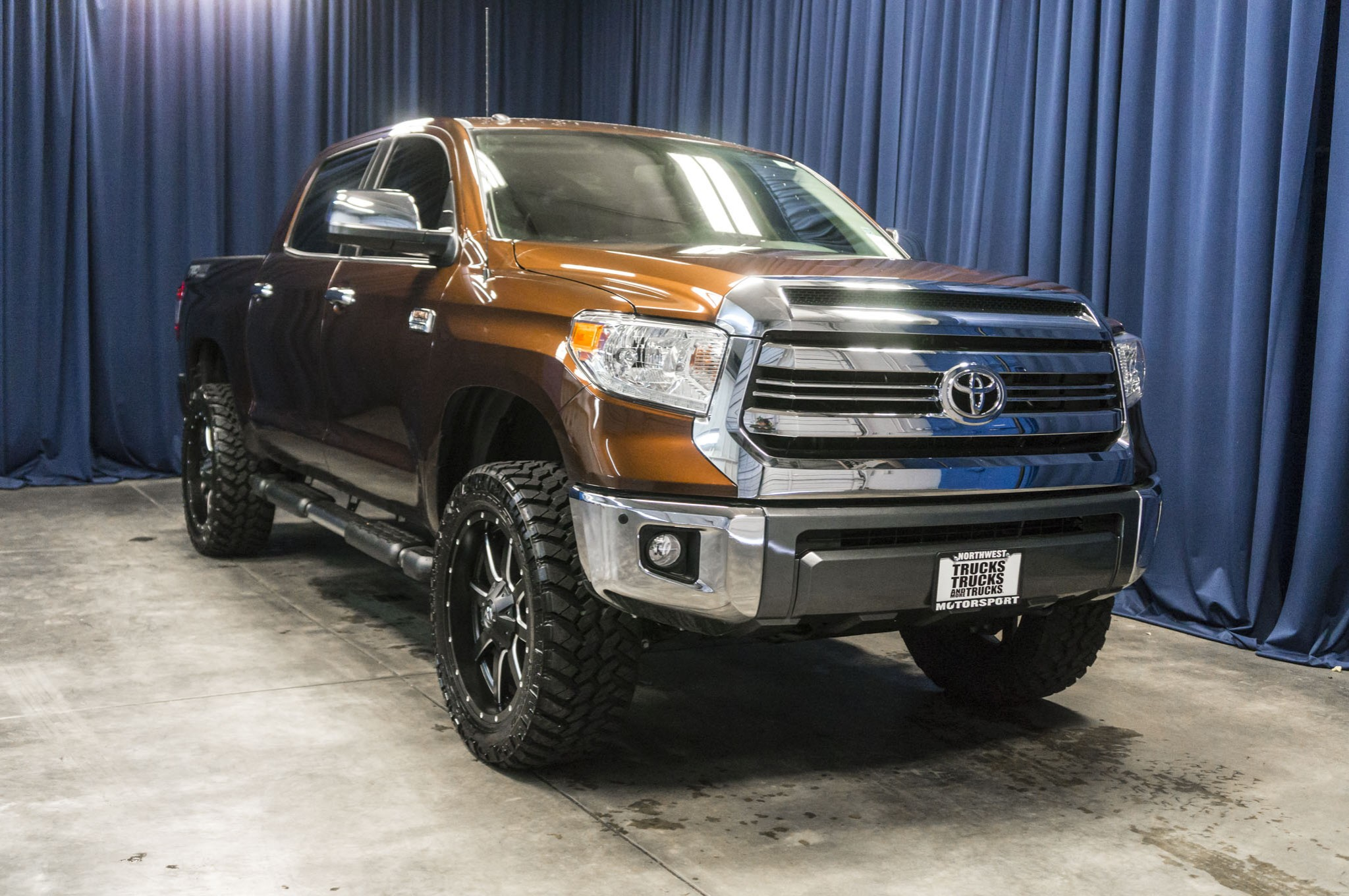 Used Lifted 2016 Toyota Tundra 1794 Edition 4x4 Truck For Sale 40068c
