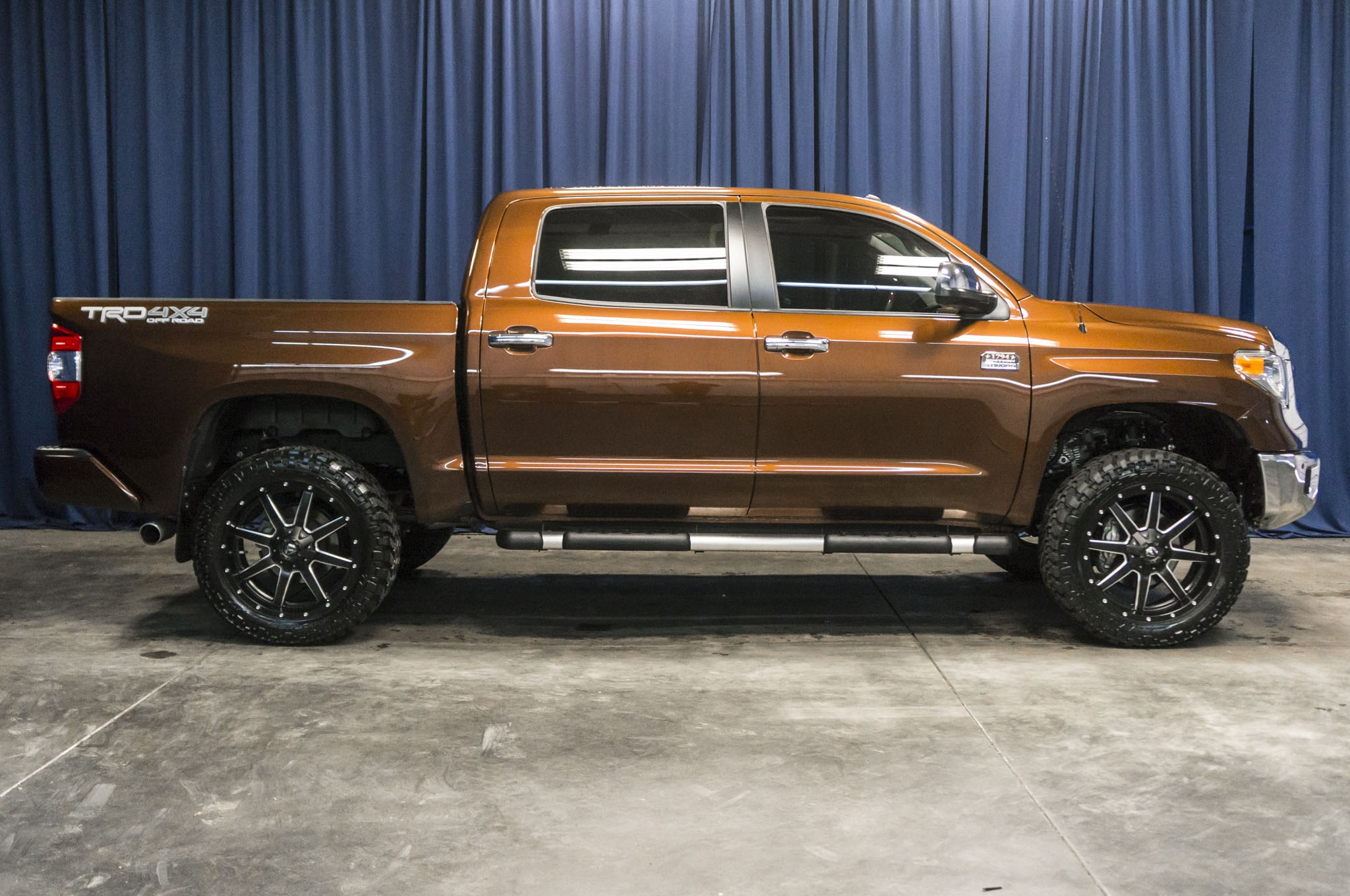 Used Lifted 2016 Toyota Tundra 1794 Edition 4x4 Truck For Sale C