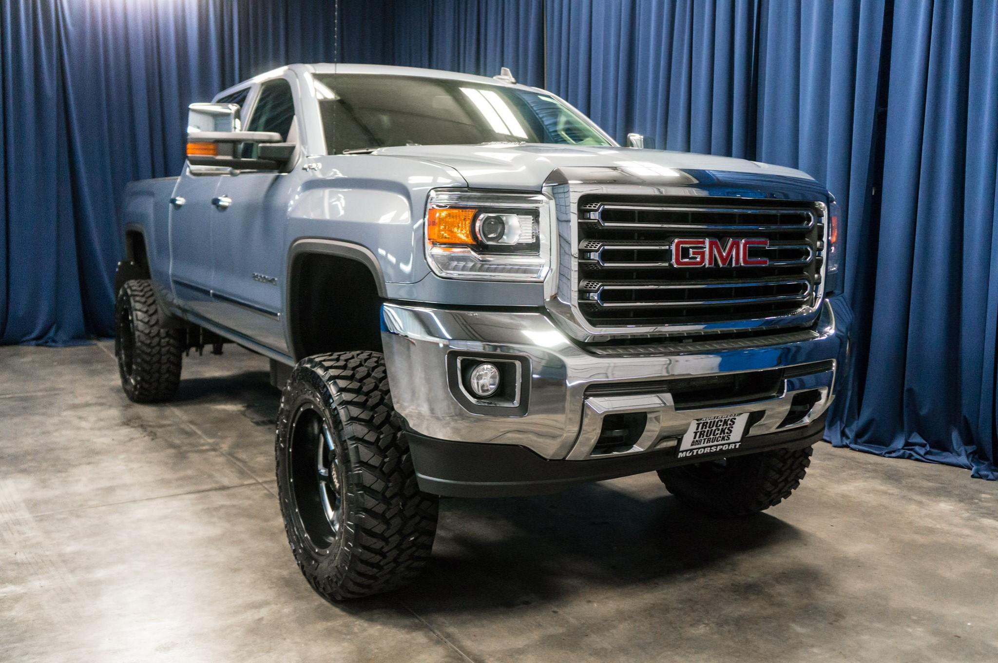 Used Lifted 2016 GMC Sierra 2500 HD SLT 4x4 Diesel Truck