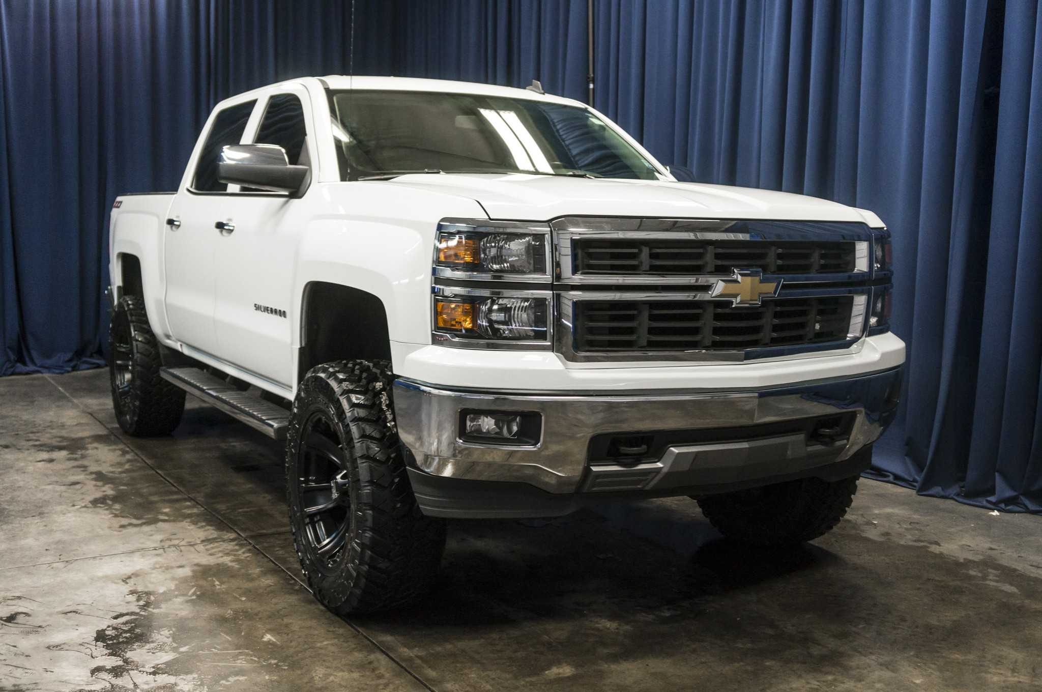 used lifted 2014 chevrolet silverado 1500 ltz 4x4 truck for sale 40334. Black Bedroom Furniture Sets. Home Design Ideas