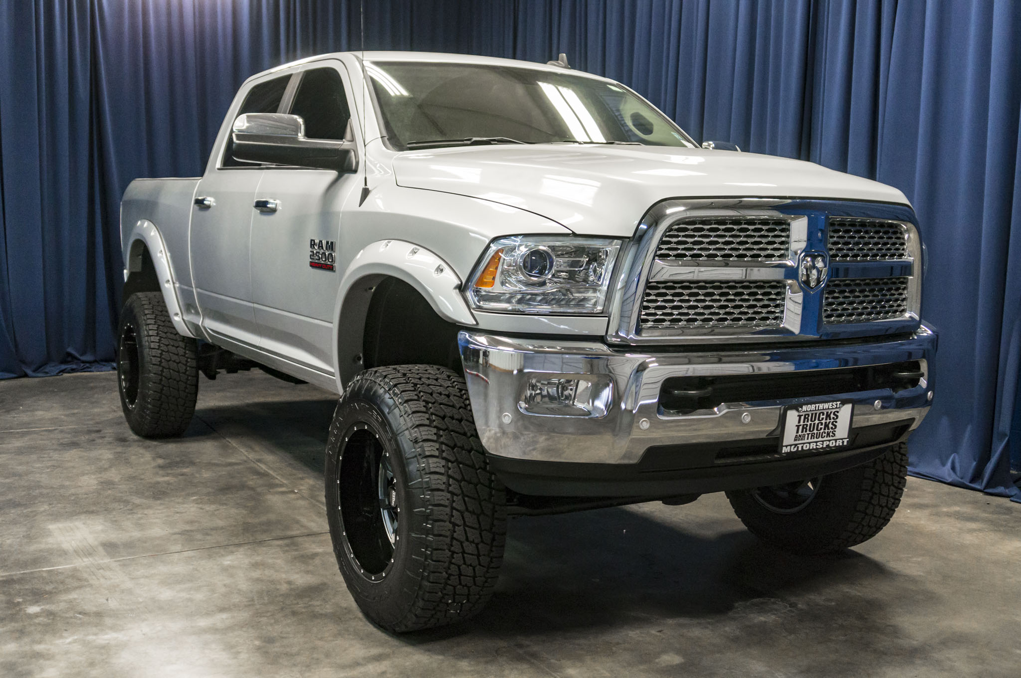 Lifted Ram 3500 >> Used Lifted 2016 Dodge Ram 2500 Laramie 4x4 Diesel Truck For Sale - 40496
