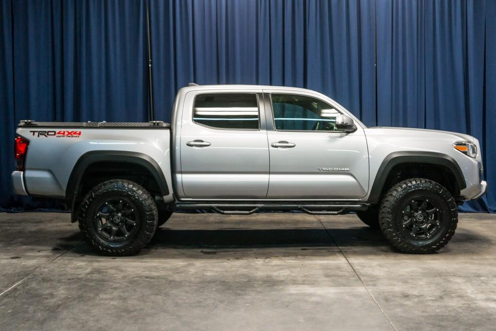 used lifted 2016 toyota tacoma trd 4x4 truck for sale northwest motorsport. Black Bedroom Furniture Sets. Home Design Ideas