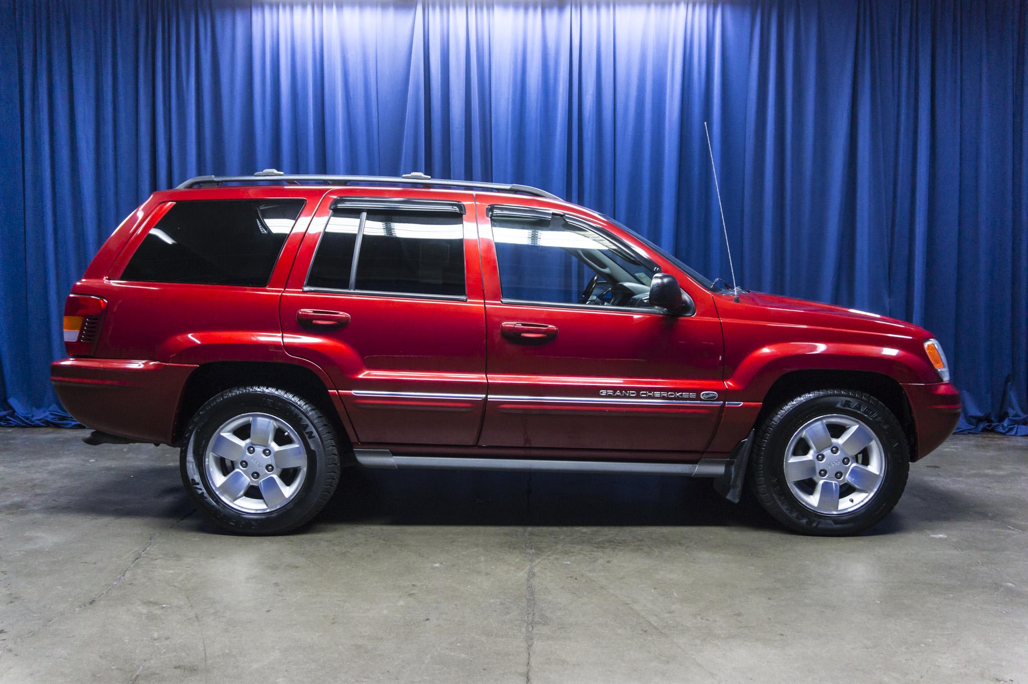 Used 2004 Jeep Grand Cherokee Overland 4x4 Suv For Sale Northwest Motorsport